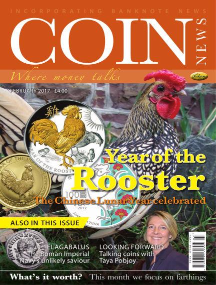Coin News January 25, 2017 00:00
