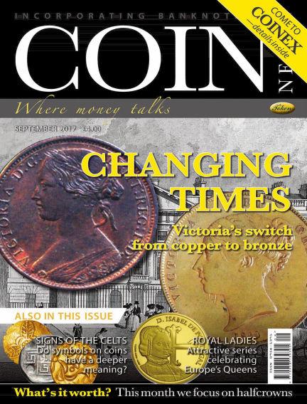 Coin News August 30, 2017 00:00