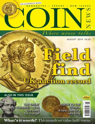Coin News August 2019