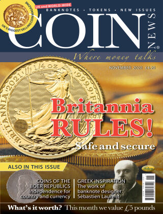 Coin News November 2020