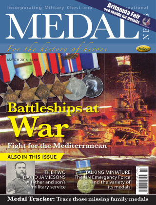 Medal News March 2016