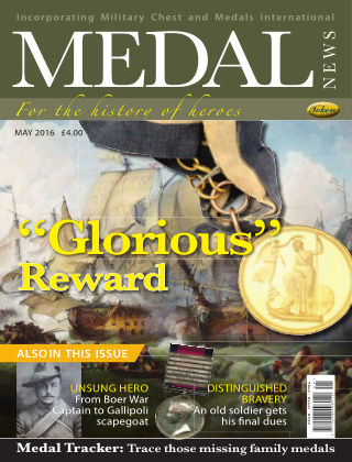 Medal News May 2016