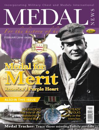 Medal News February 2016