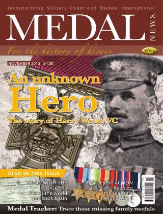 Medal News November 2015