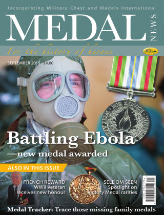 Medal News September 2015