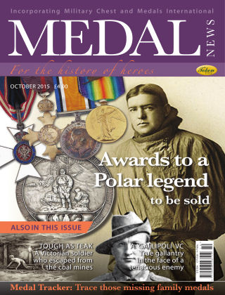 Medal News October 2015