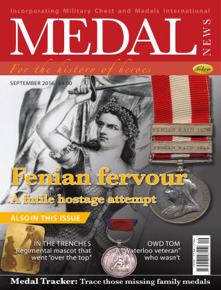 Medal News September 2016