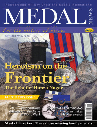 Medal News October 2016