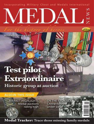 Medal News November 2016
