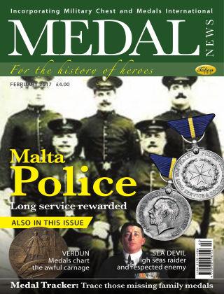 Medal News February 2017