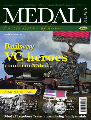 Medal News March 2017