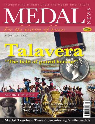 Medal News August 2017