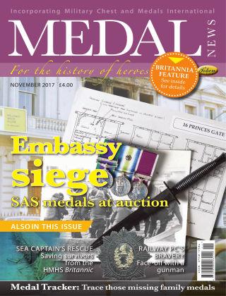 Medal News November 2017