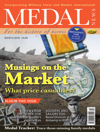 Medal News March 2018