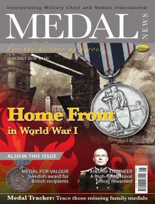 Medal News June / July 2018