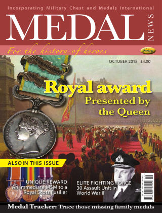 Medal News OCT 18
