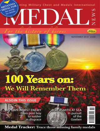 Medal News November 2018