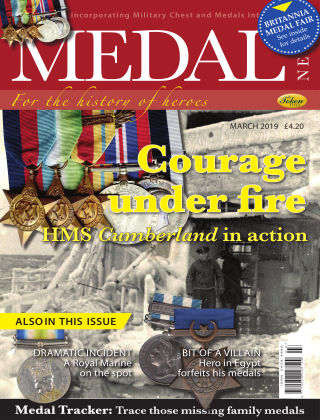 Medal News March 2019