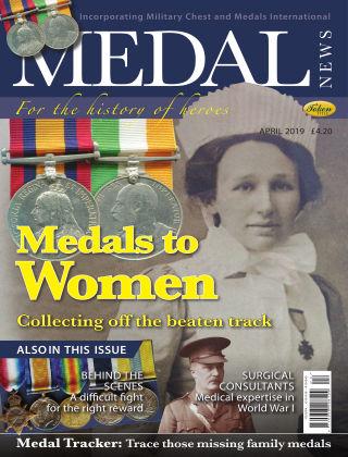 Medal News April 2019