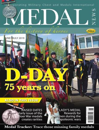 Medal News Jun Jul 2019