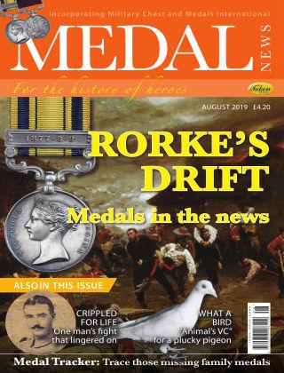 Medal News Aug 2019