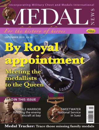 Medal News September 2019
