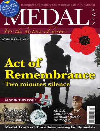 Medal News November 2019