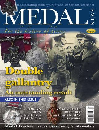 Medal News February 2020