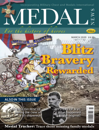 Medal News March 2020