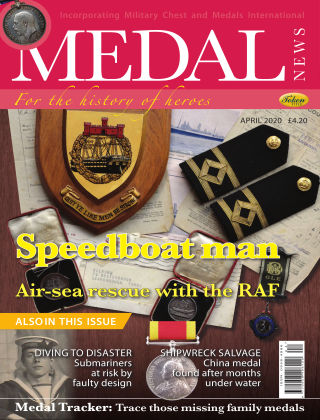 Medal News April 2020