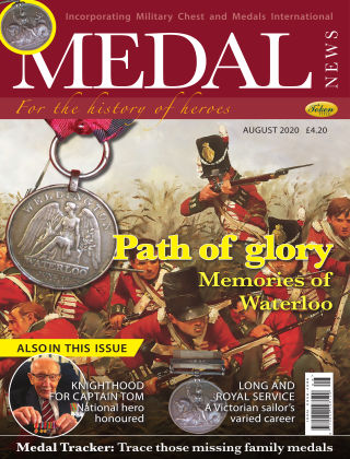 Medal News August 2020