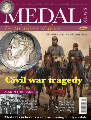Medal News Dec Jan 2021