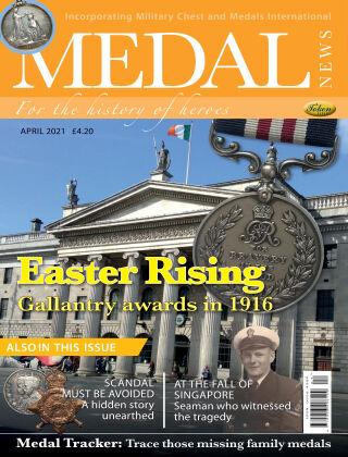 Medal News April 2021