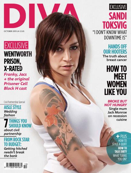 Diva Magazine October 04, 2013 00:00