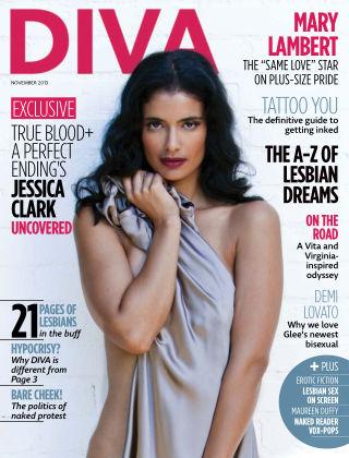 Diva Magazine November 2013