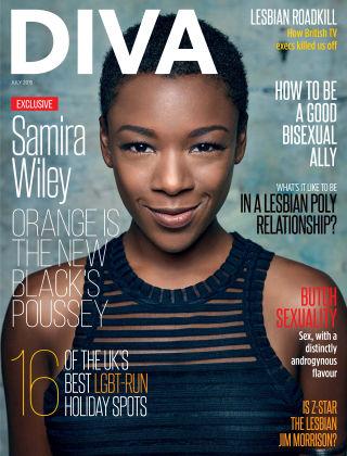 Diva Magazine July 2015