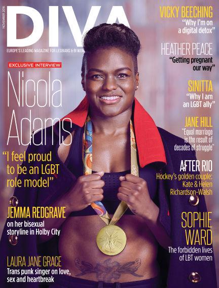 Diva Magazine October 14, 2016 00:00