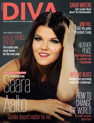 Diva Magazine January 2017