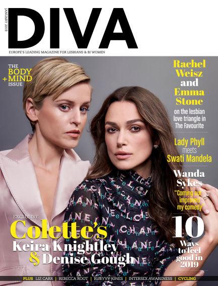 Diva Magazine December 21, 2018 00:00