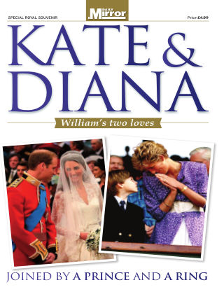Kate & Diana - William's two loves 2017-09-09