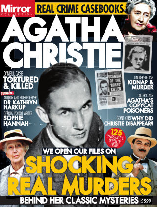 Agatha Christie - Shocking Real Murders Behind Her Classic Mysteries Issue 01