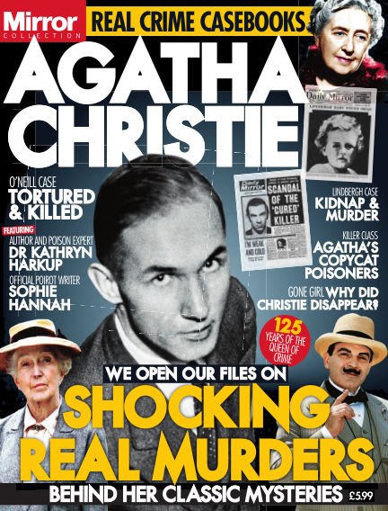 Agatha Christie - Shocking Real Murders Behind Her Classic Mysteries
