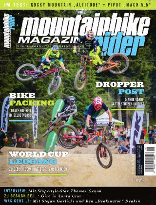 Mountainbike Rider Magazine 08/2017