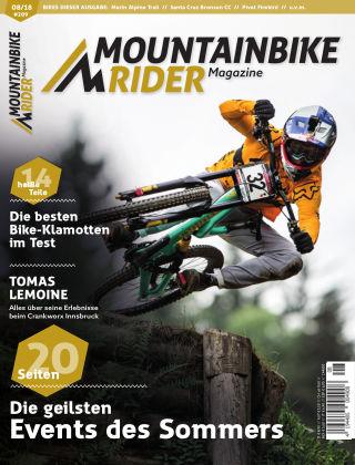 Mountainbike Rider Magazine 08/2018