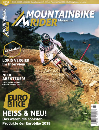 Mountainbike Rider Magazine 09/2018
