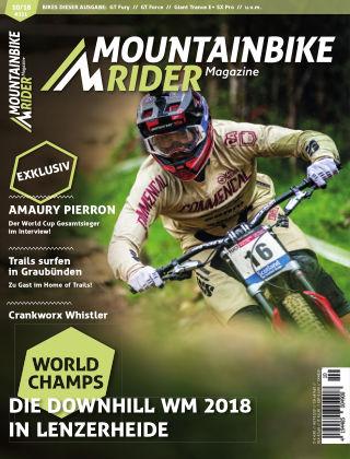 Mountainbike Rider Magazine 10/2018