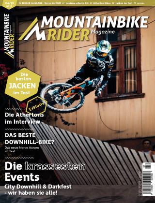 Mountainbike Rider Magazine 04/2019