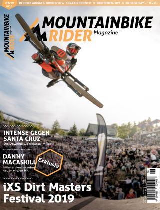 Mountainbike Rider Magazine 07/2019