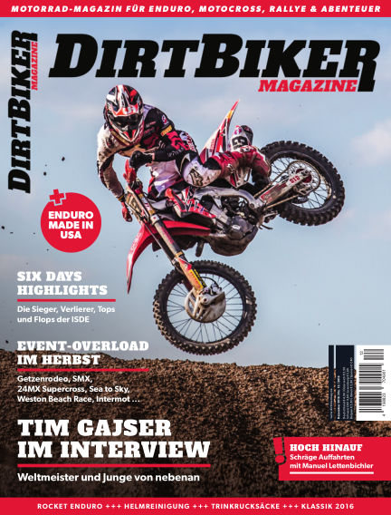 Dirtbiker Magazine November 24, 2016 00:00