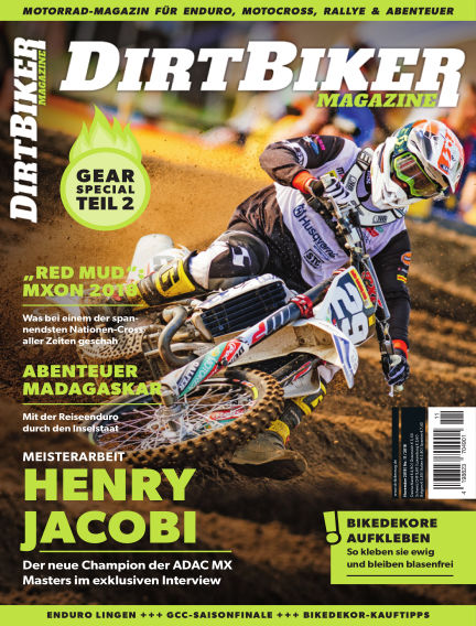 Dirtbiker Magazine October 25, 2018 00:00